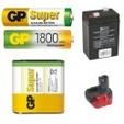 Baterie jednorázové i nabíjecí