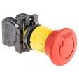 Ovladače a signalizace 22 plastové - komplety - Stoptlačítka, hřiby