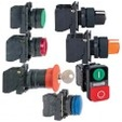 Ovladače a signalizace 22 plastové - komplety