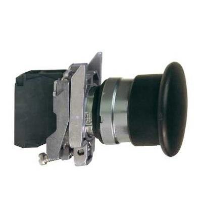 Schneider Electric XB4BC21 černá O40 ovládač stiskací s hřibovým knoflíkem ? 22 s návratem 1Z
