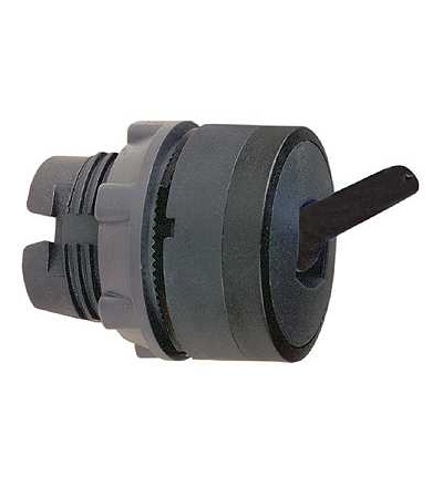 Schneider Electric ZB5AD48 černá ovl. hlavice otočná ? 22 2-polohy s návratem