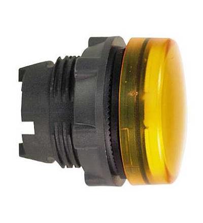Schneider Electric ZB5AV053E Oranžový signální hlavice ? 22 plná čočka pro integ. LED