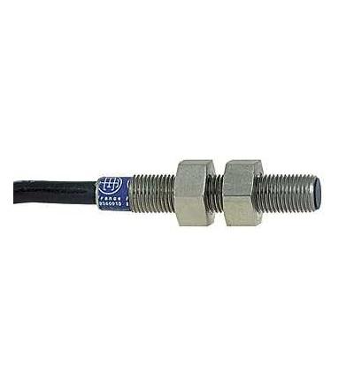 XS1N05PB310 Indukční čidlo XS1 M5, L29mm, mosaz, Sn1mm, 5..24VDC, kabel 2m, Schneider Electric
