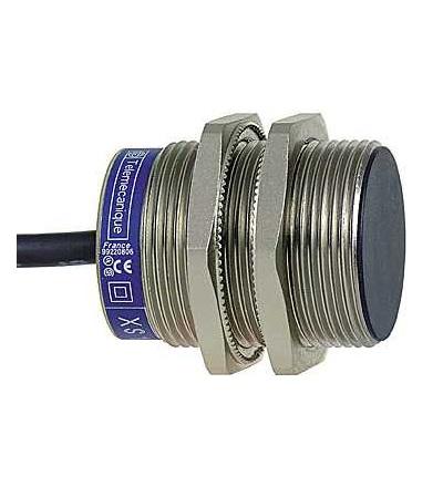 XS1N30PC410 Indukční čidlo XS1 M30, L41mm, mosaz, Sn10mm, 12..24VDC, kabel 2m, Schneider Electric