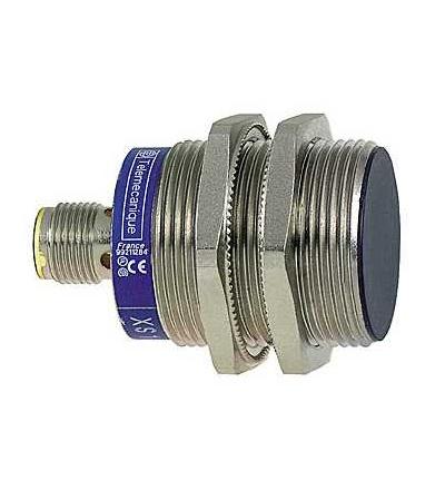 XS1N30PC410D Indukční čidlo XS1 M30, L53mm, mosaz, Sn10mm, 12..24VDC, M12, Schneider Electric