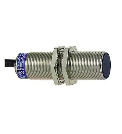 XS1M18MB250L1 Indukční čidlo XS1 M18, L60mm, mosaz, Sn5mm, 24..240VAC/DC, kabel 5m, Schneider Electric