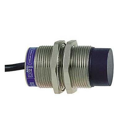 XS2M30MB250L1 Indukční čidlo XS2 M30, L63mm, mosaz, Sn15mm, 24..240VAC/DC, kabel 5m, Schneider Electric