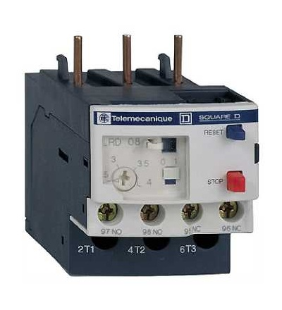 Schneider Electric LRD16 TeSys D jisticí nadproudové relé, 9...13A, třída 10A