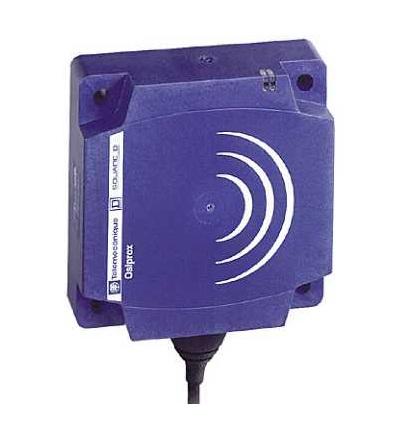 XS8D1A1PBL5 Indukční čidlo XS8 80x80x26, PBT, Sn60mm, 12..24VDC, kabel 5m, Schneider Electric