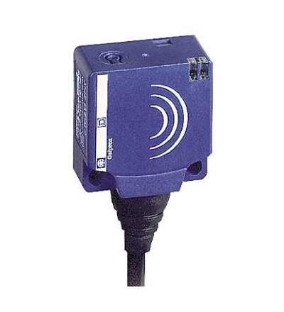 XS8E1A1PBL2 Indukční čidlo XS8 26x26x13, PBT, Sn15mm, 12..24VDC, kabel 2m, Schneider Electric