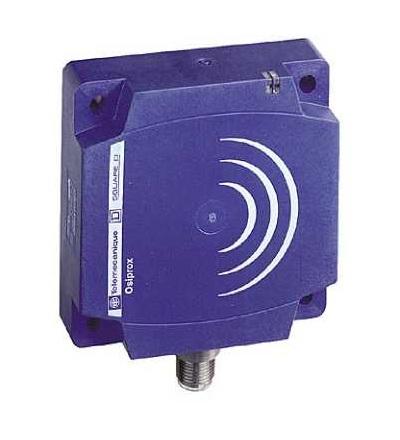 XS8D1A1NBM12 Indukční čidlo XS8 80x80x26, PBT, Sn60mm, 12..24VDC, M12, Schneider Electric
