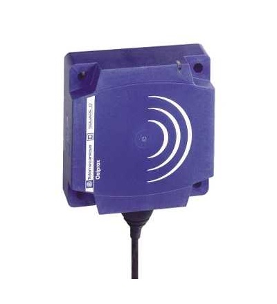 XS9C111A2L2 Indukční čidlo XS9 40x40x15, PBT, Sn15mm, 24VDC, kabel 2m, Schneider Electric