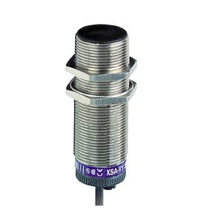 XSAV11801L10 Indukční čidlo XSAV, M30, Sn10mm, 6..150c/mn, 24..240VAC/DC, kabel 10m, Schneider Electric