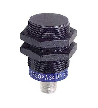 XS4P30PB340D Indukční čidlo XS4 M30, L50mm, PPS, Sn15mm, 12..24VDC, M12, Schneider Electric