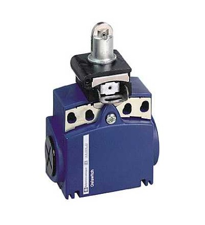 XCTR2502P16 Poloh. spínač XCTR-čep s ocelovou kladkou-1Z+1V-závisle sp.- kabel.vstup M16, Schneider Electric