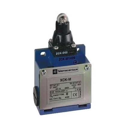 XCKM502H29 Poloh. spínač XCKM-čep s ocelovou kladkou-1Z+1V-zpožděný-kabel.vstup M20, Schneider Electric