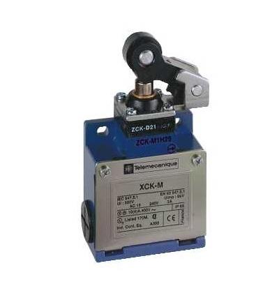 XCKM521H29 Pol.spín.XCKM-čep a páka s termoplast.kladkou-1Z+1V-závisle sp.- kab.vstup M20, Schneider Electric