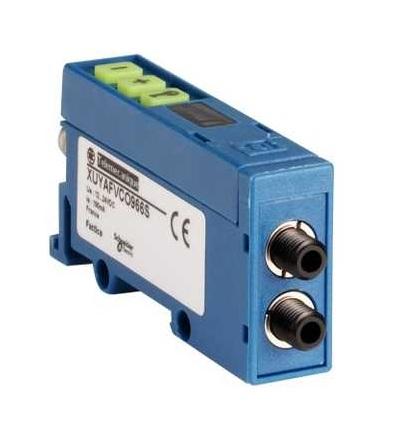 XUYAFVCO966S Fotoelektrické čidlo, XUY, zesilovač optických vláken, 12..24VDC, M8, Schneider Electric