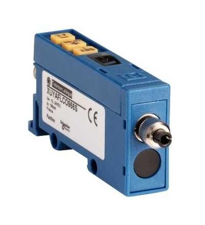 XUYAFLCO966S Fotoel. čidlo, XUY, zesilovač optických vláken, osvětlení, 12..24VDC, M9, Schneider Electric