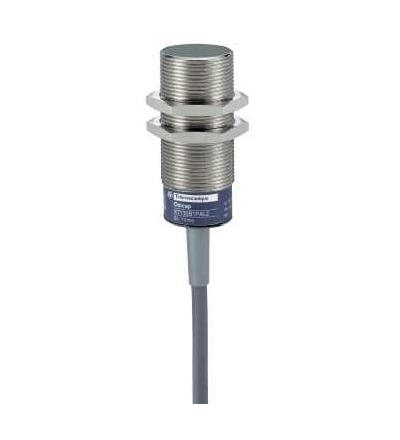 XT130B1PCL2 Kapacitní čidlo, XT1, válcové M30, mosaz, Sn 10mm, kabel 2mm, Schneider Electric