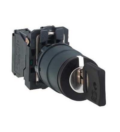 Schneider Electric XB5AG33 Kompletní otočný ovládač ? 22 3-polohy pevné 2Z Ronis 455