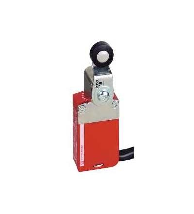XCSM4115L5 Bezp. polohový spínač XCSM, kov, otočná páka, 2V+2Z, kabel 5m, Schneider Electric