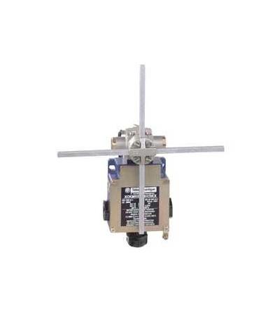 XCKMR54D2H29EX Polohový spínač XCK, MR, čtver. tyč 6mm tvar kříže, 2x(2V), ATEX, Schneider Electric