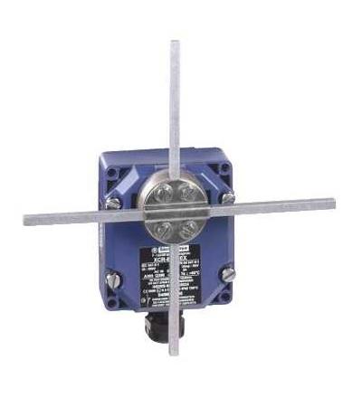 XCRF171EX Polohový spínač XCR, F, čtver. tyč 6mm kříž, 2x(1V+1Z), Schneider Electric