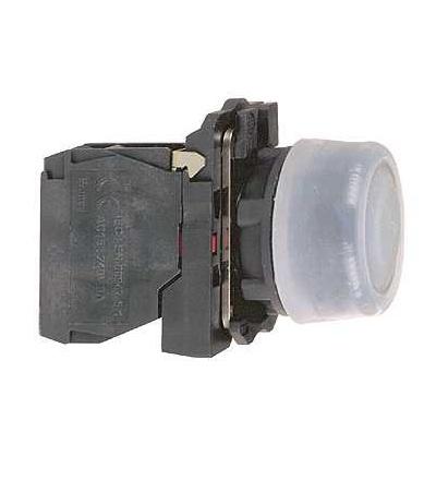 Schneider Electric XB5AP21 černý s přesah. kompletní tlač. ? 22 s návratem 1Z neoznačený
