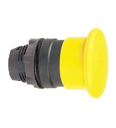 Schneider Electric ZB5AW753 Oranžový O40 prosvět. hlavice s hřibovým tlačítkem ? 22 s aretací pro integ. LED