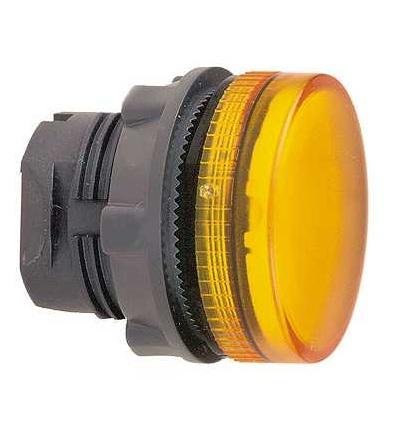 Schneider Electric ZB5AV053S Oranžový signální hlavice ? 22 grooved lens pro integ. LED