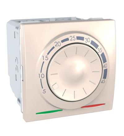 MGU3.503.25 Termostat pro podlahové vytápění otočný, marfil, Schneider Electric