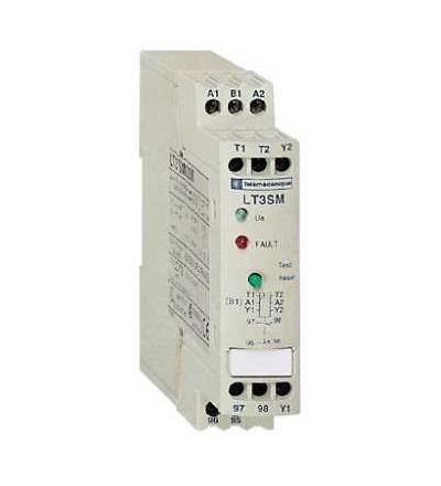 Schneider Electric LT3SM00MW Termistorové relé PTC TeSys, LT3 s manuálním resetem, 24...230 V, 2přep