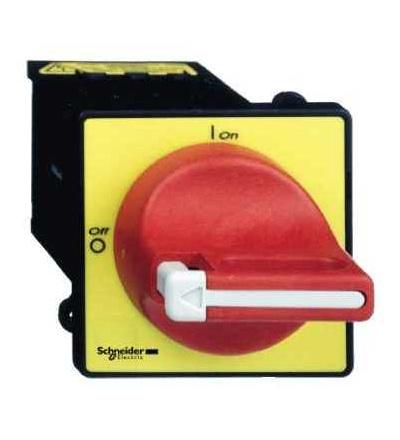 Schneider Electric VCDN20 Odpínač VCDN, 3p, 690 V 20A, uzamykatelná červená rukojeť