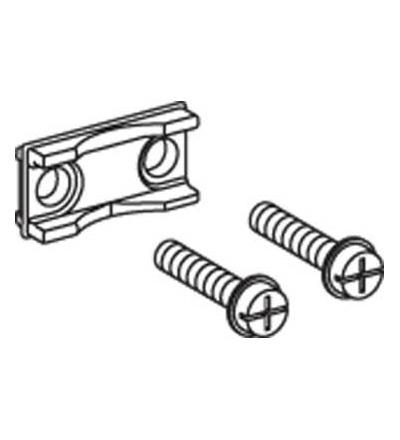Schneider Electric LV480862 Svorka pro pružné přípojnice, 12x6mm, sada 3, pro M8, pro Fupact ISFL160