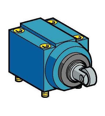 ZC2JE85 Hlava polohového spínače ZC2J, boční čep s ocelovou kladkou vert., Schneider Electric