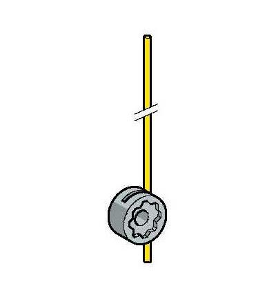 ZCKY53 Páka polohového spínače ZCKY-kov kruhová tyč.páka 3mm L=125mm-(-40..120°C), Schneider Electric