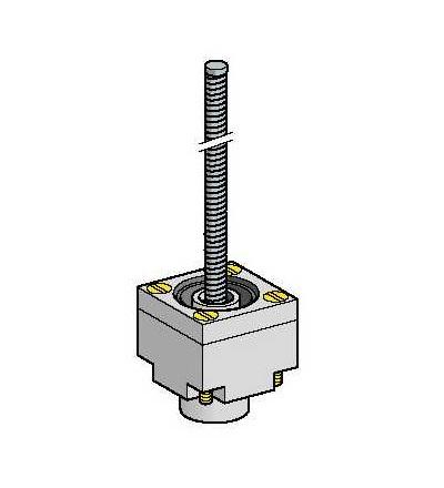 ZCKE086 Hlavice polohového spínače ZCKE, pružná výkyvná tyč, (, 40°C), Schneider Electric