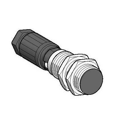 XS4P30PB370B Indukční čidlo XS4 M30, L106mm, PPS, Sn15mm, 12..48VDC, svorky, Schneider Electric