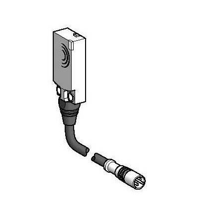 XS9F111A1L01M8 Indukční čidlo XS9 15x32x8, PBT, Sn5mm, 24VDC, M8 0,15m, Schneider Electric