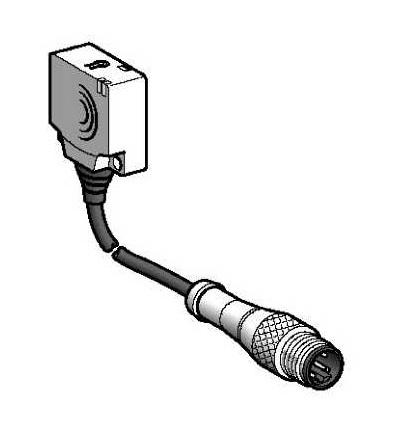 XS8E1A1PBL01M12 Indukční čidlo XS8 26x26x13, PBT, Sn15mm, 12..24VDC, M12 0,15m, Schneider Electric
