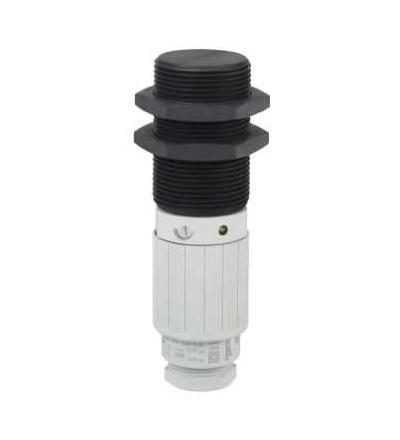 XT230A2MDB Kapacitní čidlo, XT2, válcová M30, plast, Sn 15mm, kabel 2mm, Schneider Electric
