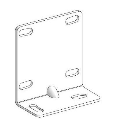 XUZAM81 Příslušenství pro čidlo, XUM kov, držák pro montáž základny, Schneider Electric