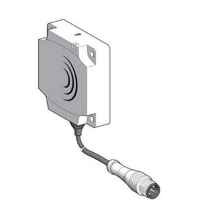 XS8D1A1MBU20 Indukční čidlo XS8 80x80x26, PBT, Sn60mm, 24..240VAC/DC, 1/2, Schneider Electric