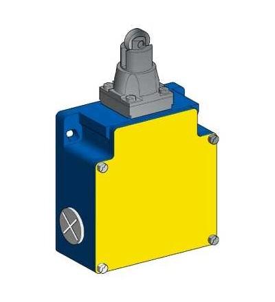 XCKML502H29 Polohový spínač XCKML, čep s ocelovou kladkou, 2x(1V+1Z), s prodlevou, M20, Schneider Electric