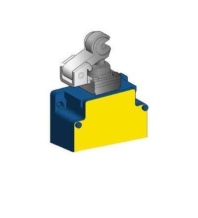 XCKML121H29 Pol.spín.XCKML-termoplast.ovl.čep s kladkou-2x(1Z+1V)-mžik.funkce-kab.vstup M20, Schneider Electric