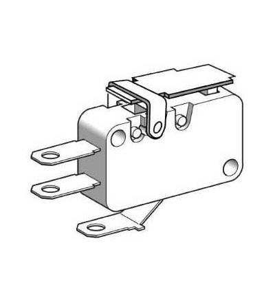 XEP3S2W2B524 Miniaturní polohový spínač-kontakty s nízkou silou-plochá páka-pájecí štítky, Schneider Electric