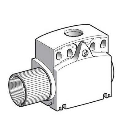 ZCT28N12 Tělo poloh. spínače ZCT, kompaktní, 2Z, zpožděný, kabel. vstup 1/2