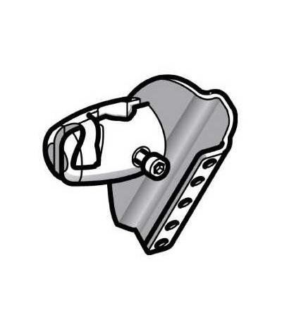 XUZX2003 Příslušenství pro čidlo, 3D upevňovací sada, držák s koule, spojka, XUX, Schneider Electric