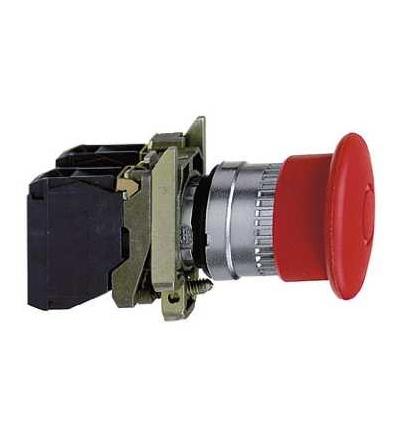 Schneider Electric XB4BT42 červená O40 nouzové zastav. tlač. ? 22 s aretací